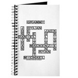 SHELLEY GRAMMY Crossword/Scrabble Gifts Journal