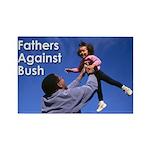 Fathers Against Bush Fridge Magnet