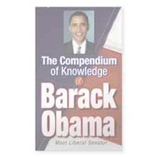 Barack Obama: Compendium of Knowledge Decal