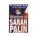 Collected Wisdom of Sarah Palin Rectangle Magnet