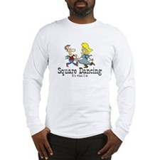 Square Dancing Long Sleeve T-Shirt