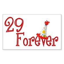 29 Forever Rectangle Sticker 10 pk)
