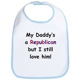 Republican Daddy Bib