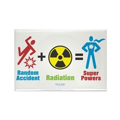 Super Powers Rectangle Magnet (100 pack)