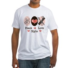Peace Love Style Hairstylist Shirt