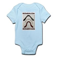 boom angle shirts Infant Creeper