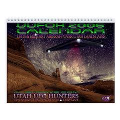 UFO's Over Utah - UUFOH Wall Calendar