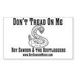 Roy Dawson &amp;amp; the Bootleggers Sticker (Rectangl