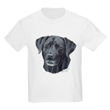 Meaghan, Black Lab Kids T-Shirt