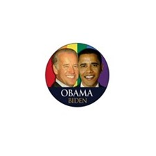 Obama-Biden Gay Pride 23 Mini Button (10 pack)