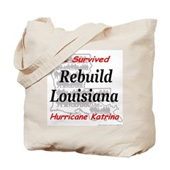Rebuild Louisiana Tote Bag