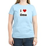 I Love Oma T-Shirt