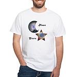 MOON AND STARS White T-Shirt