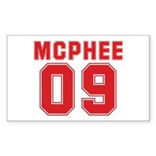 MCPHEE 09 Rectangle Decal