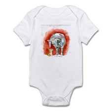 Horse and Cat Infant Bodysuit