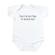 Too Much Yarn Infant Bodysuit