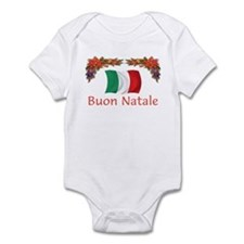 Italy Buon Natale 2 Infant Bodysuit