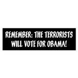 terrorists will vote for obama, Anti Obama