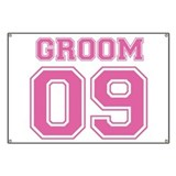 Groom 09 (Pink) Banner