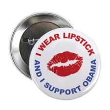 "Unique Lipstick on a pig 2.25"" Button (100 pack)"