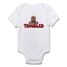 Here Comes Troubled Onesie