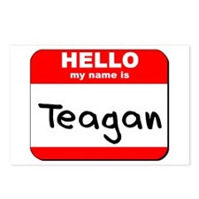 Hello my name is Teagan Postcards (Package of 8)