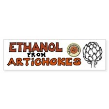 Ethanol from Artichokes Car Sticker