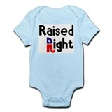 Raised Right 1 Onesie