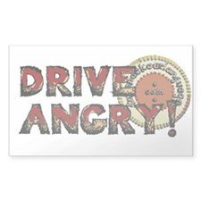 Drive Angry Decal