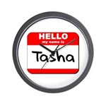 Hello my name is Tasha Wall Clock