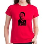 WWRD -What Would Reagan Do? Women's T-Shirt