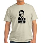 WWRD- What Would Reagan Do? Light T-Shirt