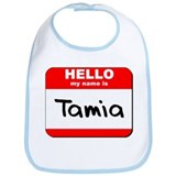 Hello my name is Tamia Bib