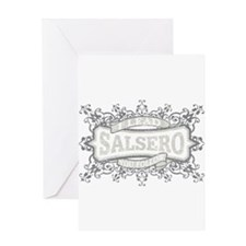 Cute Salsa Greeting Card