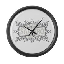 Cute Salsa Large Wall Clock