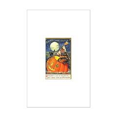 Witchcraft Halloween Mini Poster Print