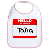 Hello my name is Talia Bib