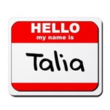 Hello my name is Talia Mousepad