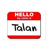 Hello my name is Talan Postcards (Package of 8)