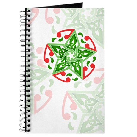 Celtic Christmas Star Journal