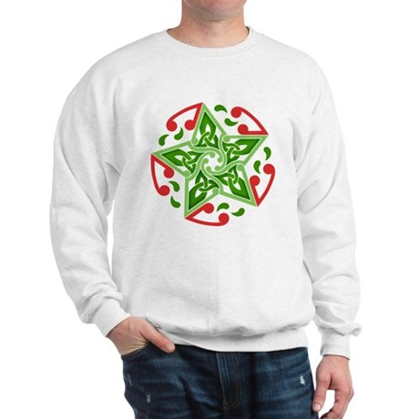 Celtic Christmas Star Sweatshirt