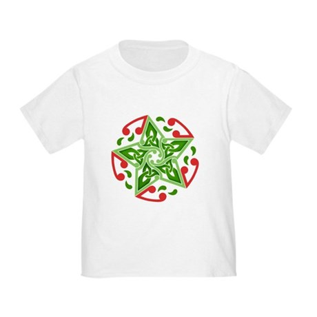 Celtic Christmas Star Toddler T-Shirt