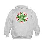 Celtic Christmas Star Kids Hoodie