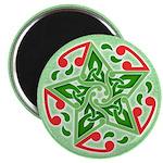 Celtic Christmas Star Magnet