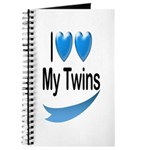 I Love My Twins Journal