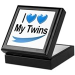 I Love My Twins Keepsake Box