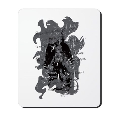 """Saint Michael - Protection A Mousepad"