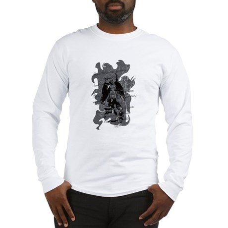 """Saint Michael - Protection A Long Sleeve T-Shirt"