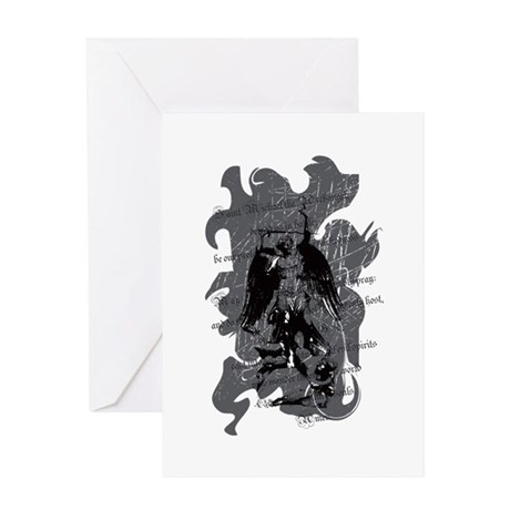 """Saint Michael - Protection A Greeting Card"