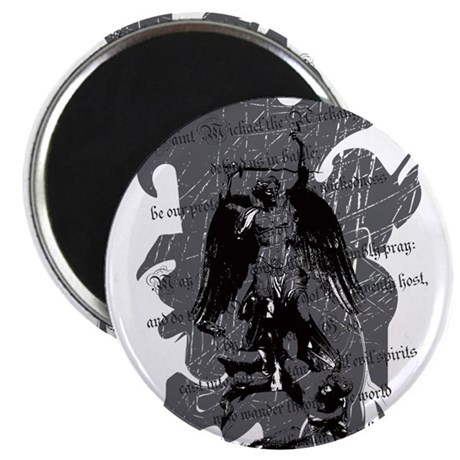 """Saint Michael - Protection A 2.25"" Magnet (10 pac"